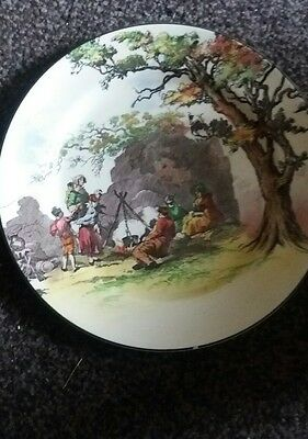 "Vintage seris ware Royal Doulton plate  ""The Gypsies"" Old English10.5"" Plate"