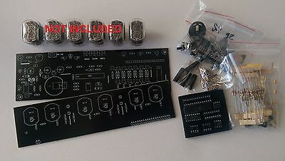 Nixie Tube clock KIT IN-12 Six Digit Tubes Date Temperature Tubes NOT Included