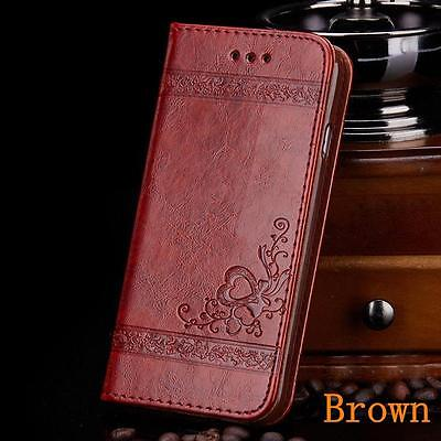 Card Slot Flip Stand Magnetic Wallet Leather Bumper Case Cover for iPhone 7 Skin