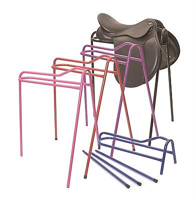Shires Collapsible Horse Riding Equestrian Strong Steel Detachable Saddle Stand