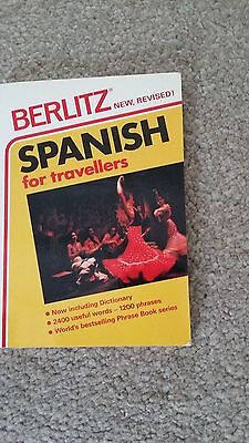 Spanish Phrase Book by Berlitz Guides (Paperback, 1986)