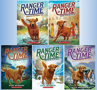 Ranger in Time Series Collection Set Books 1-5 Paperback By Kate Messner New!