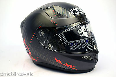 HJC Rpha 11 Epik Trip Black / Red Motorcycle/Motorbike Full Face Helmet