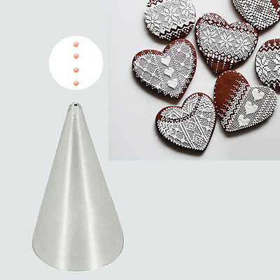 # 1mm Writer Tube Stainless Steel Icing Fondant Piping Decorating Nozzle Tip HOT