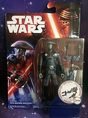 Star Wars Rebels - Fifth Brother, Inquisitor 3.75 Action Figure (Disney)