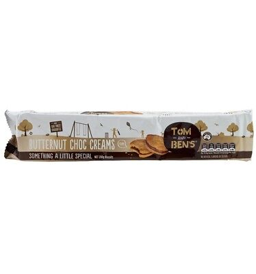 Tom and Ben Butternut Chocolate Cream 200g x 16