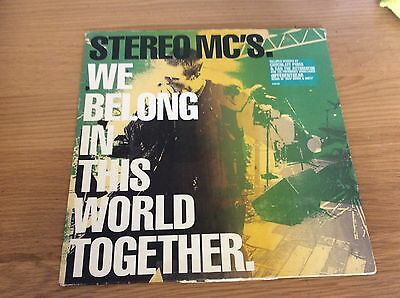 """Stereo MCS, we belong in this world together, 12""""vinyl record single"""