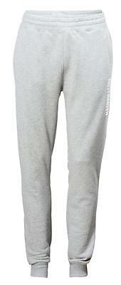 Baumwoll - Frottee - Trainingshose CREW SWEAT PANT Helly Hansen GREY MELANGE 949