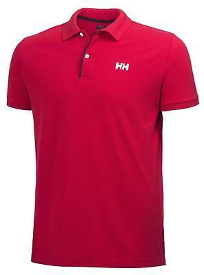 Baumwoll Pikee Polohemd  CREW HH CLASSIC POLO  Helly Hansen  RED 162 XL