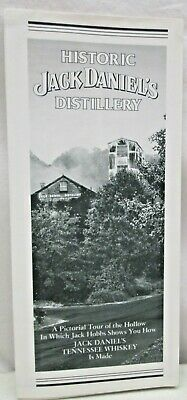 Vintage Brochure Historic Jack Daniel's Distillery Tennessee Whiskey Lynchburg
