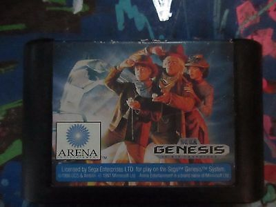 Back to the Future Part III (Sega Genesis, 1991)Tested/Cleaned CART ONLY
