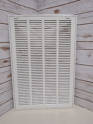 "16"" x 25"" Return Filter Grille ‑ Easy Air Flow ‑ Flat Stamped Face - I1"