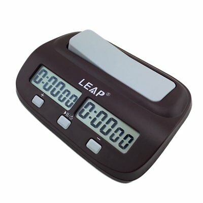 Chess Clock Timer Digital Chess Clock Two LED Screens Fashion Simple CL