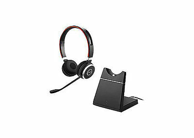 Jabra EVOLVE 65 UC Stereo Wireless Headset with Charging Stand 6599-823-499