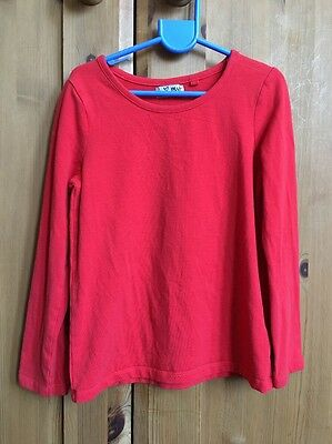 Next Kids Long-Sleeve T Shirt Age 6 - Red