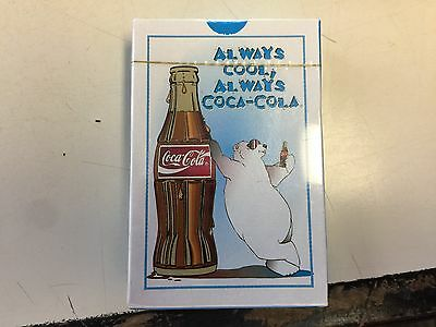 Coca Cola Deck Of Playing Cards! Polar Bear! Brand New! Sealed!