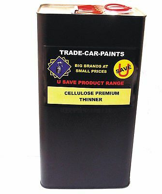 Car Paint Trade Cellulose High Gloss Premium Thinner 5Lt