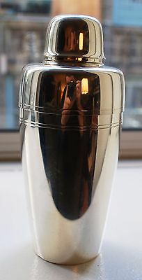 TIFFANY  MID CENTURY  Sterling COCKTAIL SHAKER Art Deco 1 Pint No Monogram