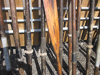 Antique vintage boat oars x 10 Nautical Maritime Marine