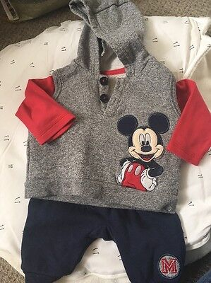 Mickey Mouse Tracksuit Newborn