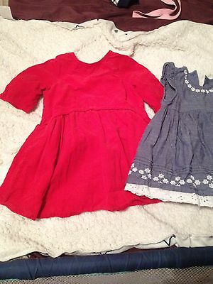 Baby Girls Dress Bundle 12-18 Months Summer Dresses
