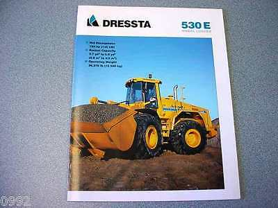 Dressta 530E Wheel Loader Brochure