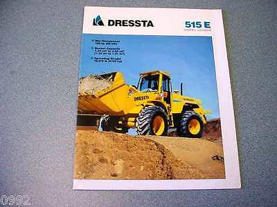Dressta 515E Wheel Loader Brochure