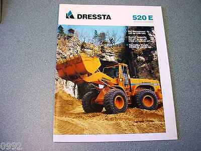 Dressta 520E Wheel Loader Brochure