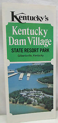 Vintage Brochure Kentucky Dam Village State Resort Park Gilbertsville 1977