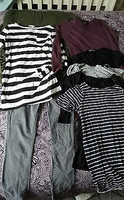 Maternity clothes bundle 10/12 H&M New Look Mamas and Papas Boo Hoo