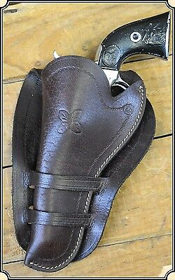 SAA cowboy action western leather Holster 4 3/4 in. Barrel Left Hand