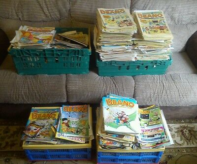 Beano And Dandy Comic Collection. Thousands Of Comics. Vintage Collectable(BL74)