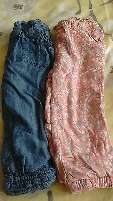 12-18 months girls trousers next and mothercare