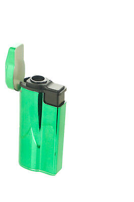 "3 Pack 4"" Jet Flame Quad Torch Laser Wrap Lighter Refillable Lockable Windproof"