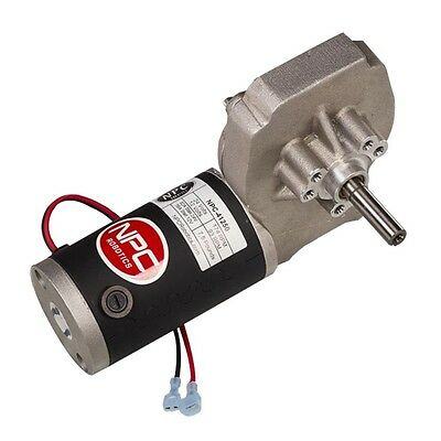 NPC 41250 12V OR 24V DC Right Angle Reversible Worm Gear Motor High Output