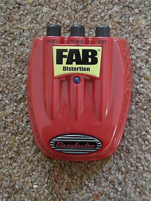 Danelectro Fab Distortion Guitar Effects Pedal