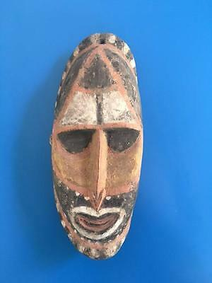 Old New Guinea Wooden Yam Mask