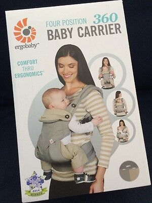 Ergobaby Four Position 360 Baby Carrier New In Box