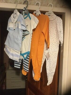 Bundle boys clothes age 6-9m - 12m all new with tags .