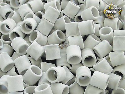 Aquarium Tropical Fish Tank Biological Filter Media Bio Ceramic Rings Wholesale