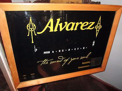 Alvarez wall tuner from music store acoustic and electric humidity and temp RARE