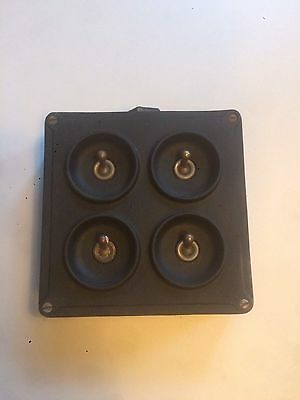 Vintage Four Way Crabtree Light Switch