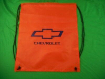 Chevrolet Bow Tie Nylon Sling Bag, Backpack, Drawstring Pouch,