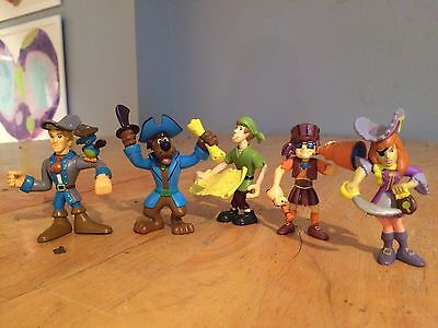 scooby-doo figures Pirate Theme