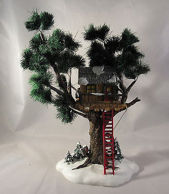 Dept 56 Snow Village Treetop Tree House #54890 Preowned