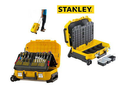Stanley STA172383 FatMax Technicians Wheeled Suitcase Toolbox FMST1-72383