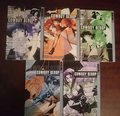 cowboy bebop the complete manga collection (volumes 1-3 and shooting star 1&2)