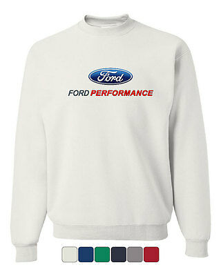 Big and Tall t-shirt Ford Racing decal tee bigmen clothing ford mustang mopar
