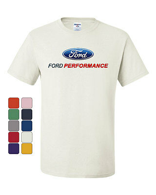 Ford Performance T-Shirt Ford Mustang GT ST Racing Tee Shirt