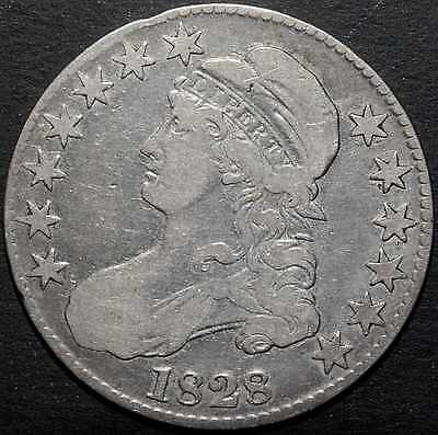 1828 Capped Bust Half Dollar - 50 Cents